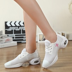 Femmes Tissu Tennis Tennis avec Dentelle Chaussures de danse