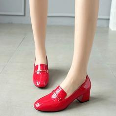 De mujer Cuero Tacón ancho Salón con Otros zapatos