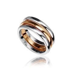 Lysande Legering/Guldpläterad Damer' Ringar