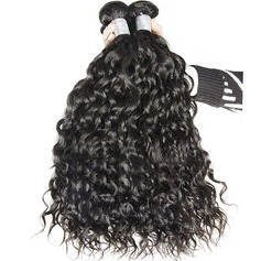4A Nicht remy Wasserwelle Menschliches Haar Geflecht aus Menschenhaar (Einzelstück verkauft) 50g
