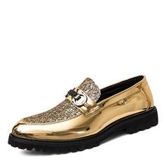 Menn Glitrende Glitter Horsebit Loafer Avslappet Pen sko Loafers til herre
