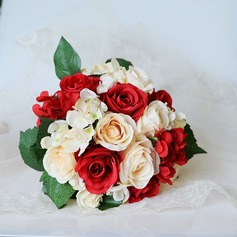 Hand-tied Artificial Flower Bridal Bouquets (Sold in a single piece) - Bridal Bouquets