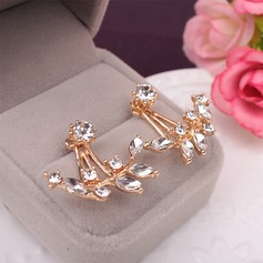 Unique Alloy With Rhinestone Ladies' Fashion Earrings