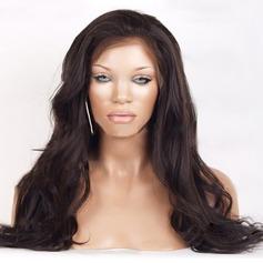 4A non remy Ondulé Cheveux humains Perruques en forme de dentelle Perruques capless (Vendu dans une seule pièce) 100g