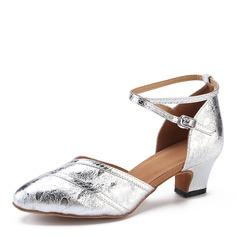 Dámské Koženka Na podpatku Latinské Taneční boty