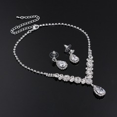 Elegant Alloy/Rhinestones With Rhinestone Ladies' Jewelry Sets (011119699)