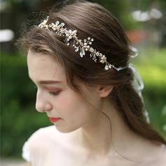 Dámy Krásný Drahokamu/Slitina/Faux Pearl Čelenky S Drahokamu/Venetian Pearl