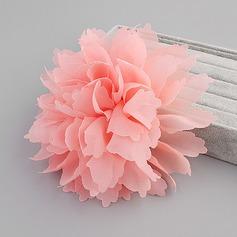 Elegante Flores de seda Flores y plumas (Se venden en una sola pieza)