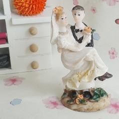 Estatueta Resina Decorações de bolos