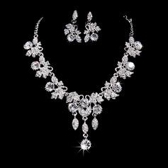 Elegant Alloy/Rhinestones Women's Jewelry Sets