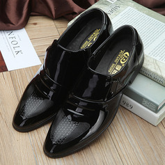 Hombres Cuero Monk-straps Casual Zapatos de vestir Zapatos Oxford de caballero