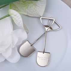 Personalized Shovel Shaped Alloy Bottle Openers (Sold in a single piece)