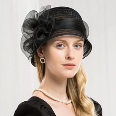 Dames Simple/Style Vintage/Artistique Batiste Chapeaux de type fascinator