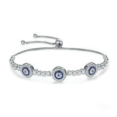 Geplatineerd Schakelketting Bruids armbanden Bolo armbanden - Valentijnsgeschenken Voor Haar