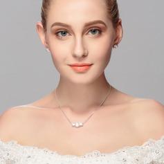 Mode Legering med Strass Kvinnor/Damer' Smycken Sets