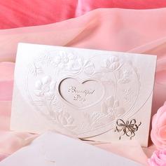 Estilo para el Corazón Tri-Fold Invitation Cards (Juego de 50)