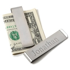 Personalized Simple Design Stainless Steel Money Clips (118028993)