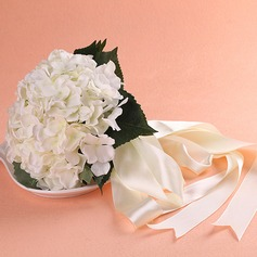 Gorgeous Round Fabric Bridal Bouquets/Bridesmaid Bouquets -