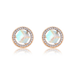Ladies' Beautiful Alloy Crystal Earrings For Bridesmaid/For Friends