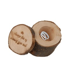 Ring Boks i Wood (Sett med 3) (103103586)
