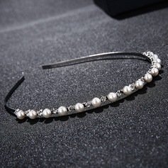 Ladies High Quality Alloy Tiaras With Venetian Pearl/Crystal (042156464)
