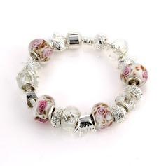 Prachtige Verzilverd Keramiek Vrouwen Armbanden en Enkelbanden
