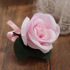 Elegante Flores de seda Ramillete de muñeca (vendido en una sola pieza) - Ramillete de muñeca