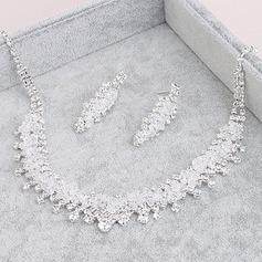 Elegant Alloy Ladies' Jewelry Sets