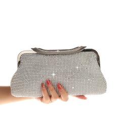 Elegant Kristall / Strass Handtaschen (012207585)