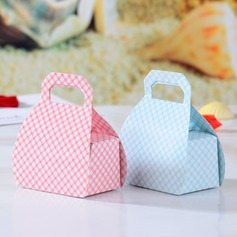 Lovely Handbag shaped Favor Boxes (Set of 12)
