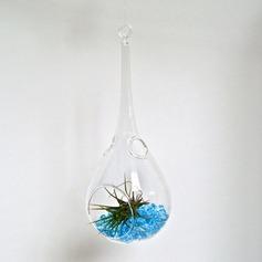 Konstnärlig skönt häng Glas Vas