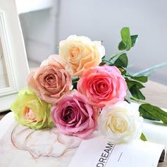 Nice Artificial Silk Bridal Bouquets/Decorations/Wedding Pomander (set of 6) -