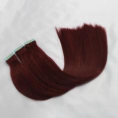 4A Ej remy Rakt människohår Tape i hårförlängningar 40pcs 100g