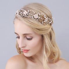 Maravilloso Aleación/La perla de faux Diademas