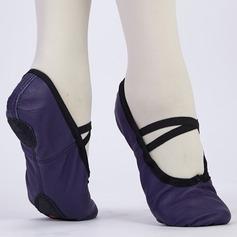 Kids' Leatherette Ballet Dance Shoes