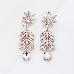 Ladies' Elegant Rhinestones Earrings For Bride/For Bridesmaid/For Mother/For Friends/For Couple (011220119)