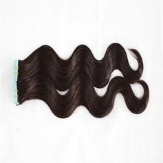 4A Non remy Corps les cheveux humains Ruban dans les extensions de cheveux 40pcs 100 g