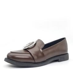 Kvinnor Konstläder Flat Heel Platta Skor / Fritidsskor Stängt Toe skor