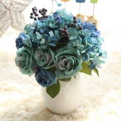 smukke silke blomst Home Decor