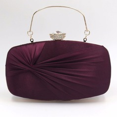 Gorgeous Silk Clutches/Top Handle