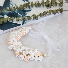 Damer Glamorøse Imitert Perle/Polymeren Leire Pannebånd