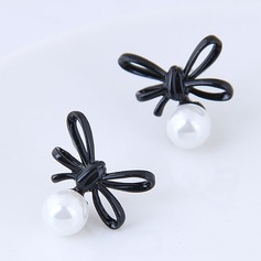 Fashional Alloy Imitation Pearls Ladies' Fashion Earrings