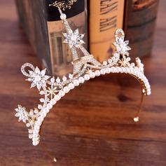 Prächtig Legierung Tiaras mit Venezianischen Perle