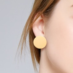 Simple Alloy Women's Fashion Earrings (Sold in a single piece) (137202658)