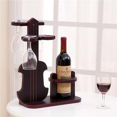 élégante style classique en bois Casier à vin