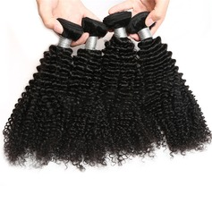 4A Non remy Kinky Curly les cheveux humains Tissage en cheveux humains (Vendu en une seule pièce) 100 g