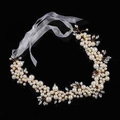 Fauxen Pärla Pannband med Venetianska Pärla (Säljs i ett enda stycke)