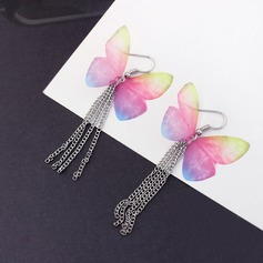 Fashional Copper Gauze Ladies' Fashion Earrings