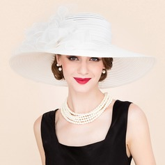 Ladies' Amazing Papyrus/Tulle Floppy Hat