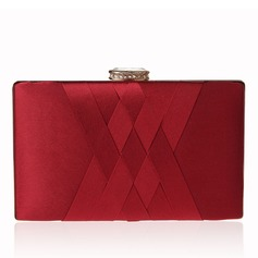 Charming Satin Clutches (012182565)